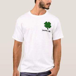 T-shirt Je ne suis pas irlandais, mais m'embrasse de toute