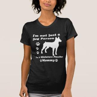 T-shirt Je ne suis pas simplement une personne de chien ;