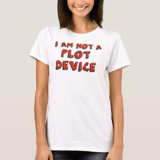 """T-shirt """"Je ne suis pas un dispositif de complot"""""""