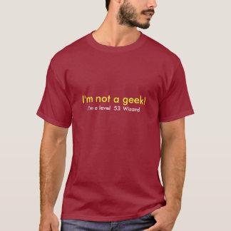 T-shirt Je ne suis pas un modèle de geek