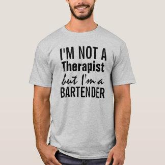 T-shirt Je ne suis pas un thérapeute