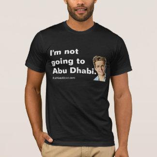 """T-shirt """"Je ne vais pas à Abu Dhabi"""" les enfants riches"""