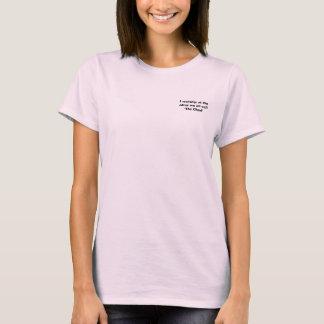 T-shirt Je nous adore à l'autel tout l'appel