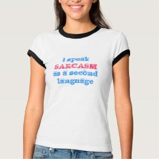 T-shirt je parle comme deuxième langue, SARCASME
