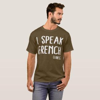 T-shirt Je parle français (les fritures)