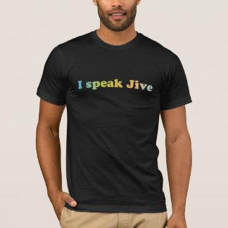 T-shirt Je parle la chemise bidon