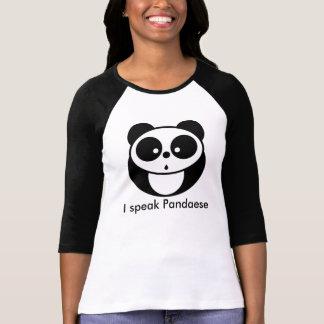 T-shirt Je parle Pandaese