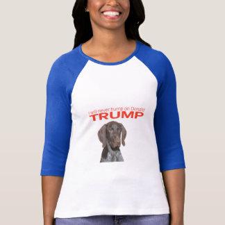 T-shirt Je pas jamais bosse sur Donald Trump !