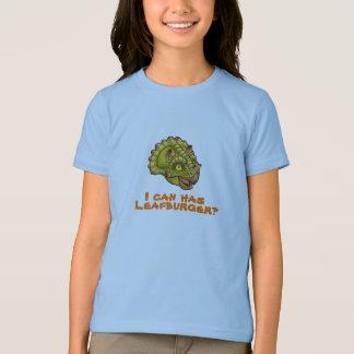 T-shirt Je peux a le leafburger ?