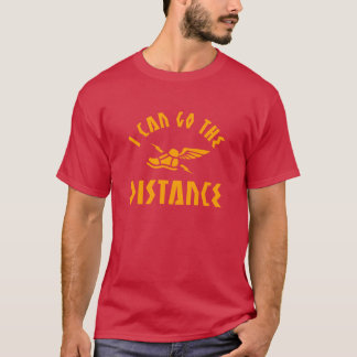 T-shirt Je peux aller la motivation courante de la
