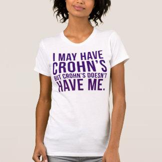 T-shirt Je peux avoir Crohn, mais Crohn ne m'a pas
