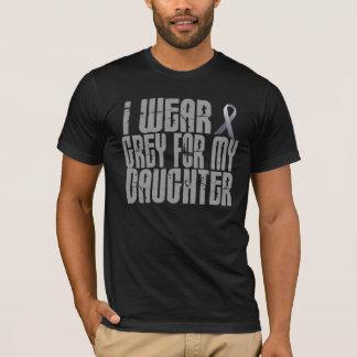 T-shirt Je porte le gris pour ma fille 16