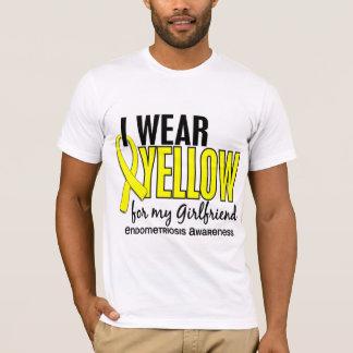 T-shirt Je porte le jaune pour ma endométriose de l'amie