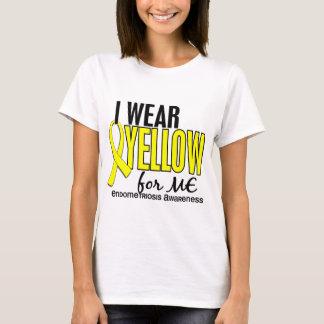 T-shirt Je porte le jaune pour moi l'endométriose 10