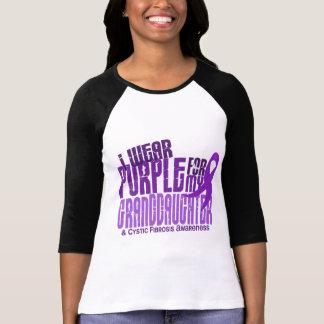 T-shirt Je porte le pourpre pour ma petite-fille 6,4 Fibr