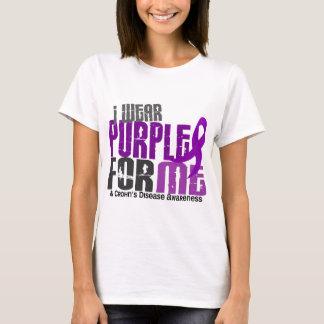 T-shirt Je porte le pourpre pour MOI la maladie de Crohn 6