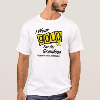 T-shirt Je porte l'or pour mon PETIT-FILS 8