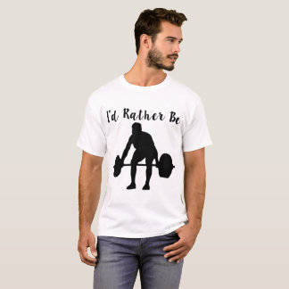 T-shirt je powerlifting plutôt