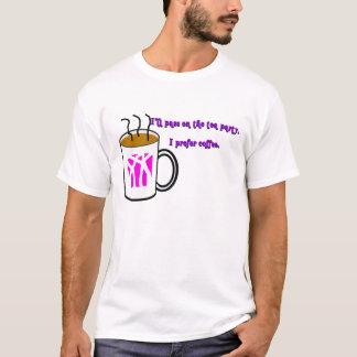 T-shirt Je préfère le café