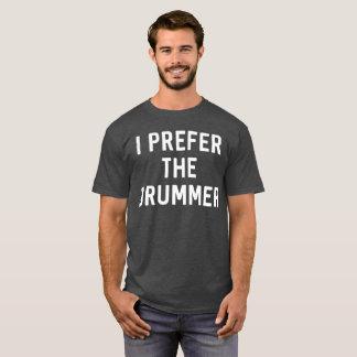 T-shirt Je préfère l'humour drôle de fan de musique de