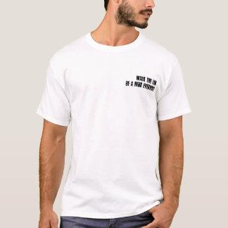 T-shirt Je prendrai une balle avant que vous…