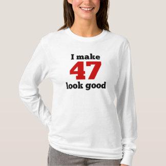 T-shirt Je rends le sembler 47 bon