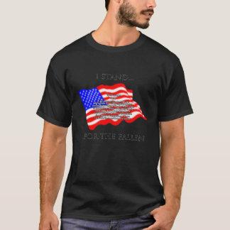 T-shirt Je représente tombé