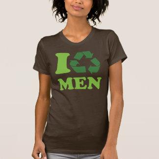 T-shirt Je réutilise des hommes