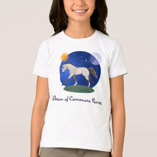 T-shirt Je rêve des poneys de Connemara