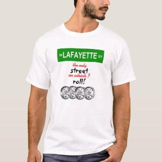 T-shirt Je roule avec Lafayette ! - Hommes