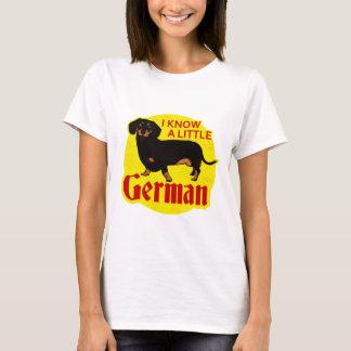 T-shirt Je sais allemand