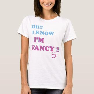 T-shirt Je sais que je suis fantaisie