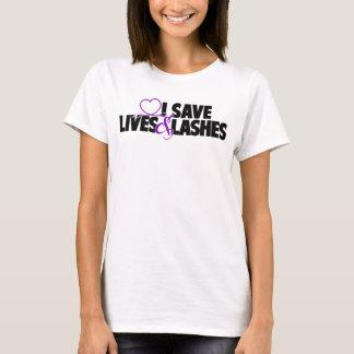 T-shirt Je sauve les vies et des mèches