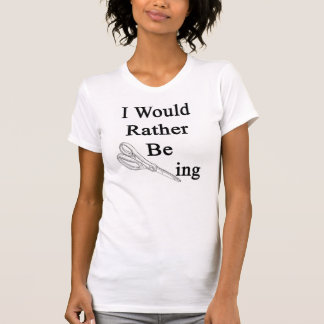 T-shirt Je Scissoring plutôt