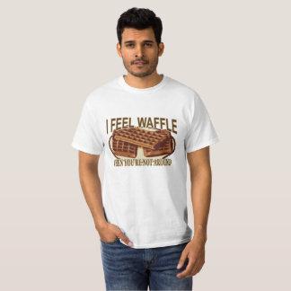T-shirt Je sens la gaufre.