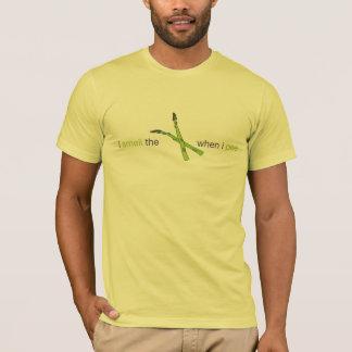 T-shirt Je sens l'asperge