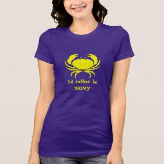 T-shirt Je serais plutôt BRILLANT