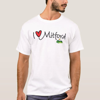 T-shirt Je serais plutôt dans Mitford--J'aime Mitford