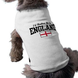 T-shirt Je serais plutôt en Angleterre