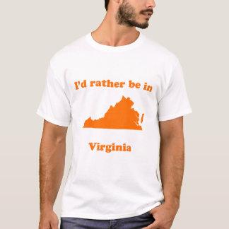 T-shirt Je serais plutôt en Virginie