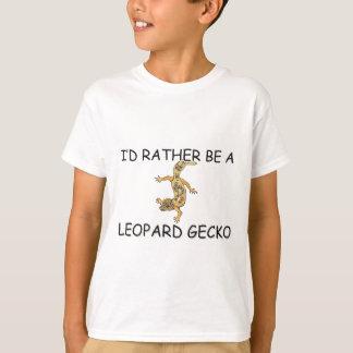 T-shirt Je serais plutôt un Gecko de léopard