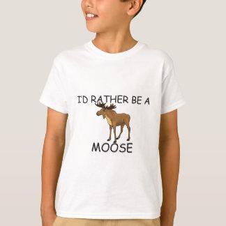 T-shirt Je serais plutôt un orignal