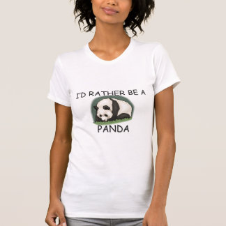 T-shirt Je serais plutôt un ours panda