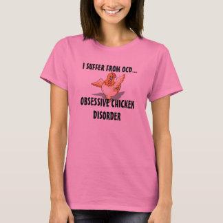 T-shirt Je souffre des dames T d'OCD
