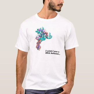 T-shirt Je souhaite que j'aie été une hélicase…