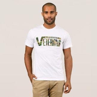 T-shirt Je soutiens des vétérans