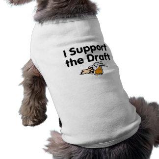 T-shirt Je soutiens la bière pression