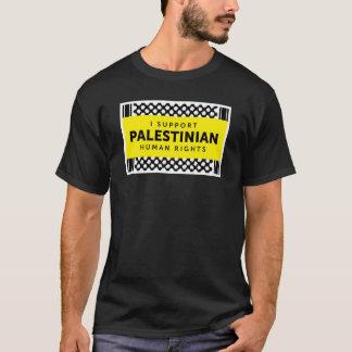 T-shirt Je soutiens la chemise palestinienne de droits de