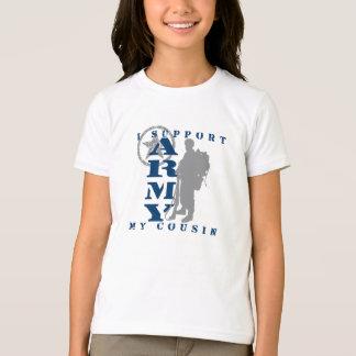 T-shirt Je soutiens le cousin 2 - ARMÉE