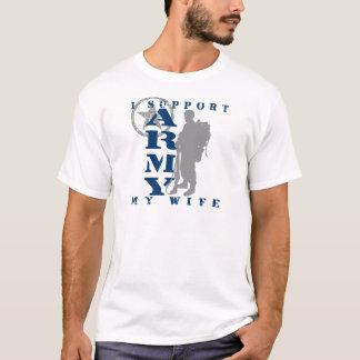 T-shirt Je soutiens l'épouse 2 - ARMÉE